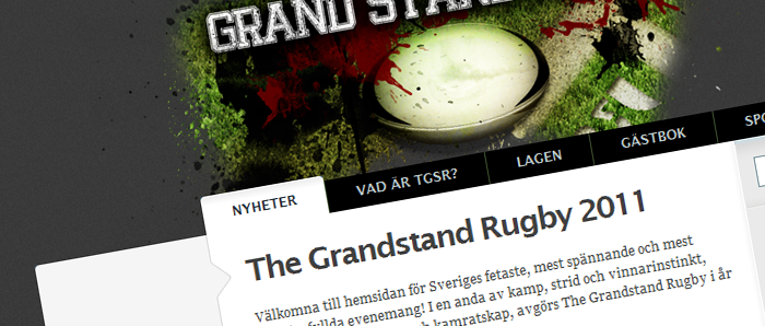 The Grandstand Rugby 2011