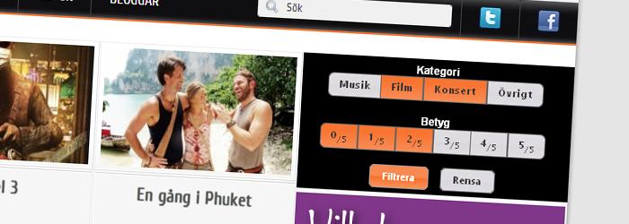 Möllan.nu – entertainment site