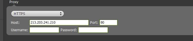 spotify proxy settings https